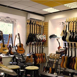 Музыкальные магазины Кервы